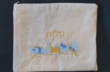 תיק טלית דגם ירושלים